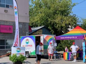 Pridemobile, Sail & Tent At Plum Plaza